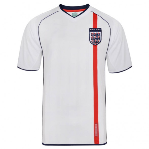 England 2002 football shirt